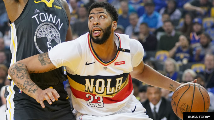 Lakers, Celtics Favored for Anthony Davis, Who Seeks Trade