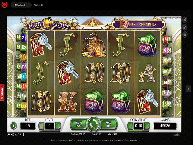 Guts Casino Screenshot 2