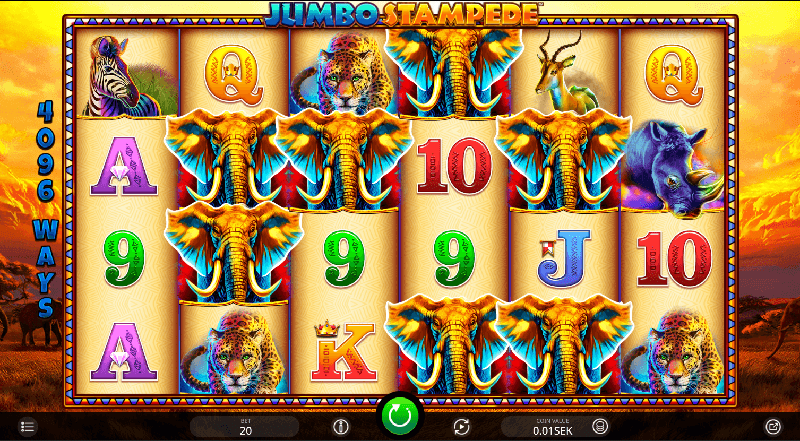 Jumbo Stampede spelautomat