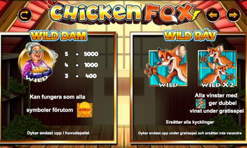 Lightning Box släpper loss räven på Chicken Fox sloten
