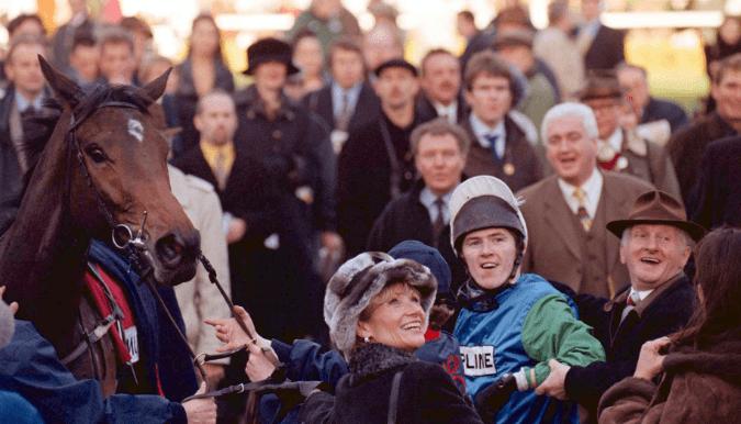 Martin Pipe and A P McCoy landed multiple gambles at 1998 Cheltenham Festival
