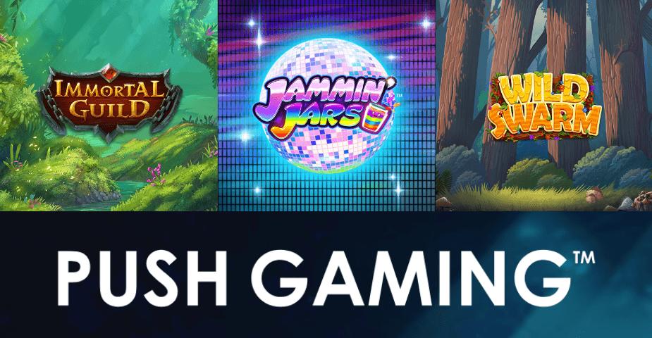 Push Gaming: företagspresentation och titt på nya spelsläpp