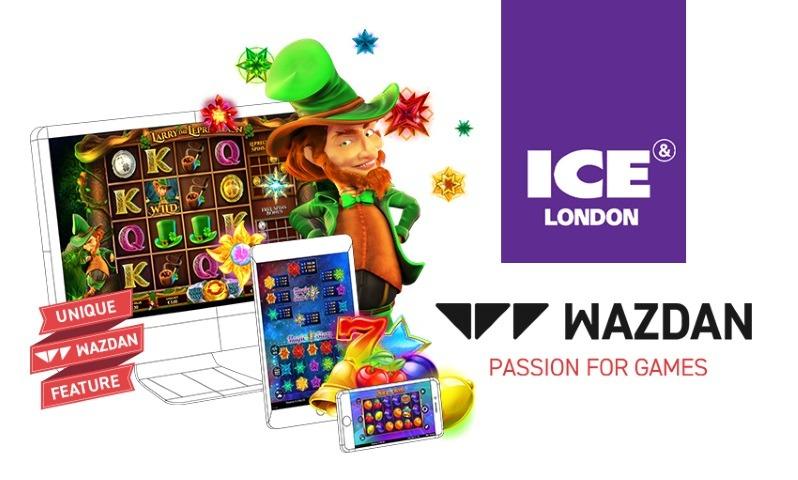 Wazdan presenterar 7 nya spel på ICE London 2019