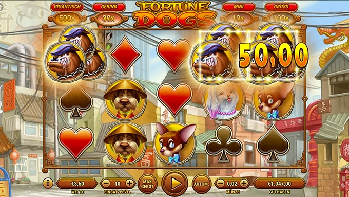 Fortune Dogs Spielautomat