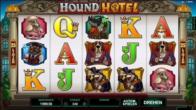 Hound Hotel Spielautomat