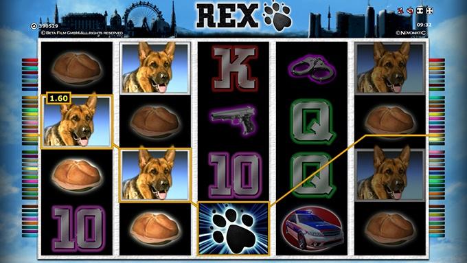 Kommissar Rex Spielautomat