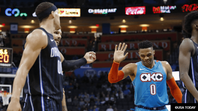 Bet on Russell Westbrook to Tie Wilt's Triple-Double Record