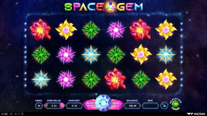 Space Gem spelautomat