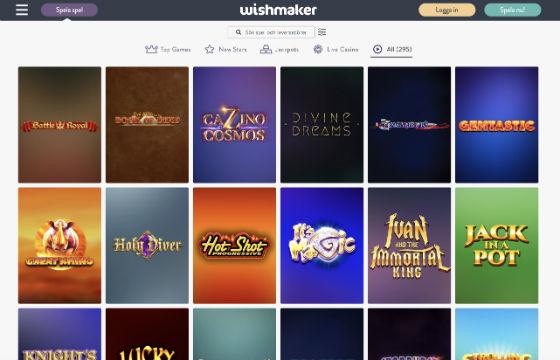Wishmaker Alla spel