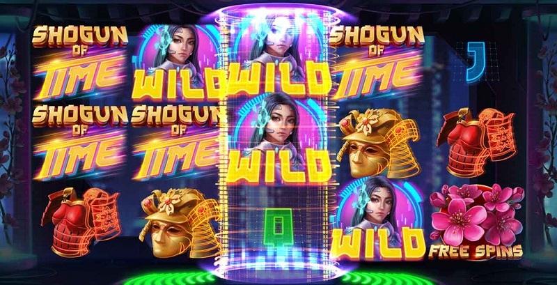 Shogun of Time spelautomat