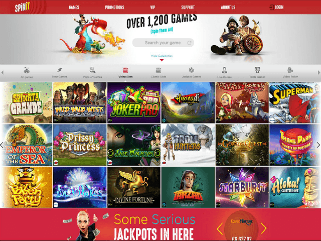Play Jackpot Games | Spinit