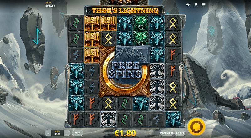 Thors Lightning spelautomat