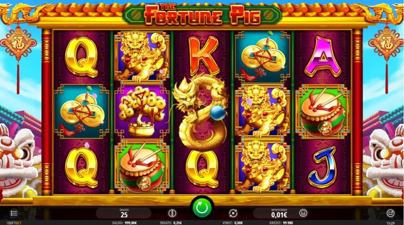 Spelautomaten The Fortune Pig