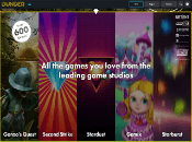 Dunder Casino Screenshot 1