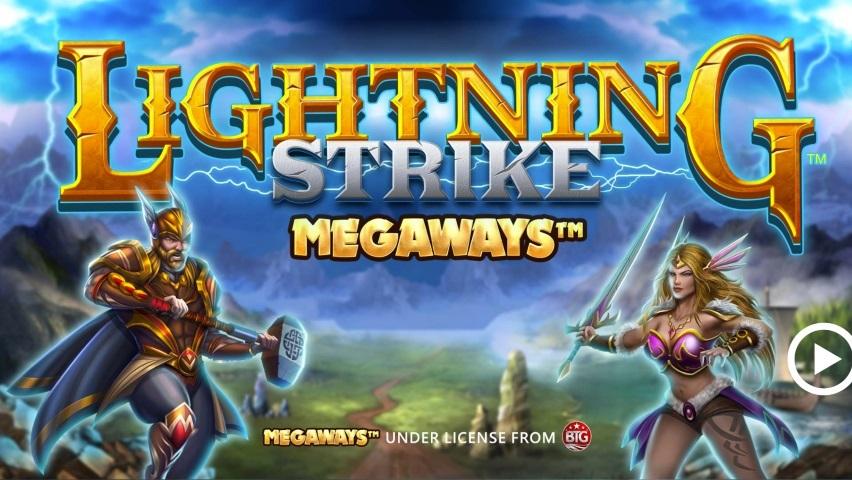 Massor av vinstvägar i nya Lightning Strike Megaways