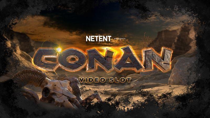 Conan spelautomat Netent
