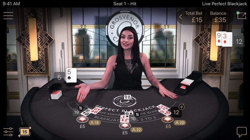 Perfect Blackjack Netent