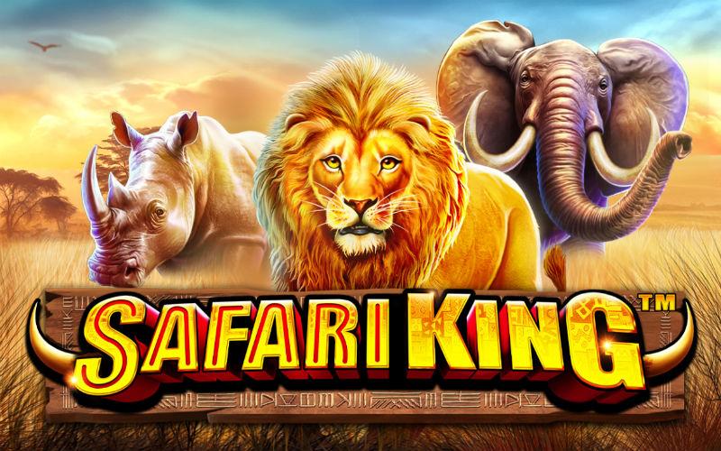 Idag släpps Pragmatic Plays nya spelautomat Safari King