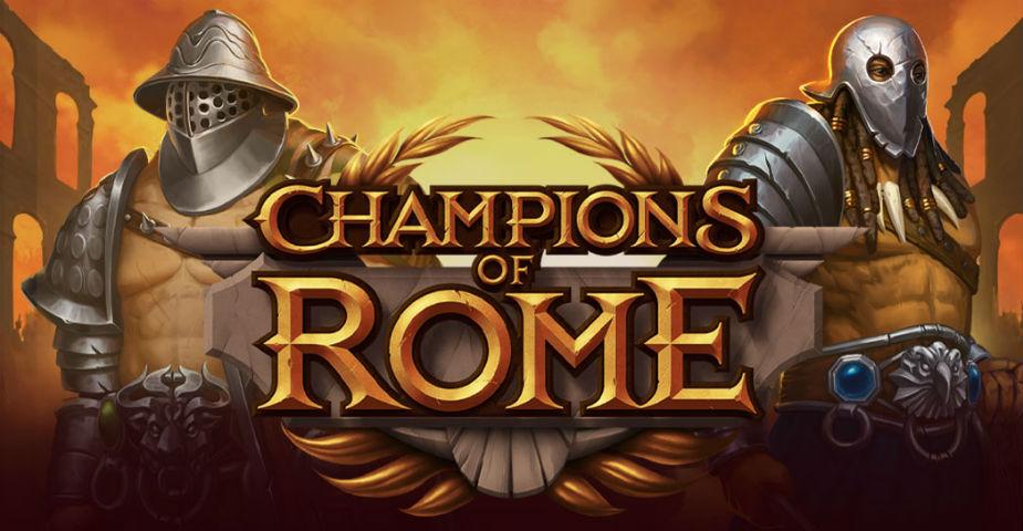 Yggdrasil släpper spelautomaten Champions of Rome