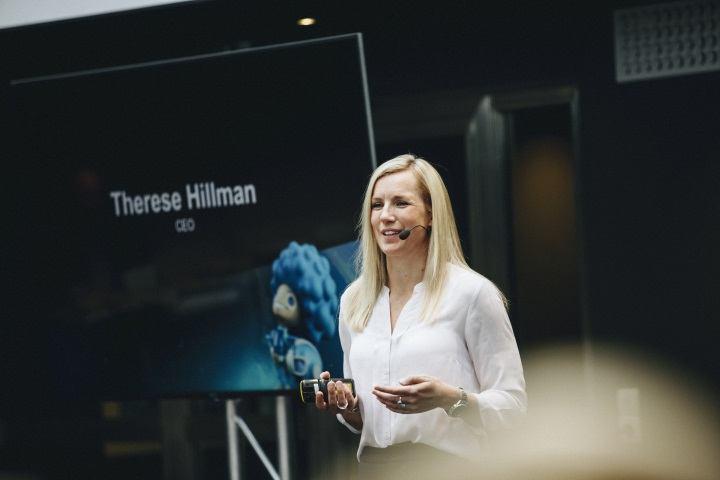 """NetEnts vd Therese Hillman i Di:s """"Kvinna & Ledare"""""""