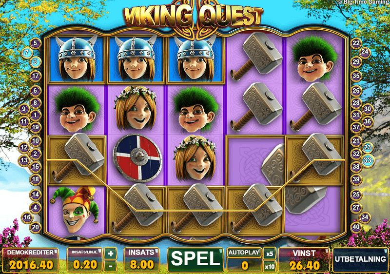 Viking Quest Microgaming