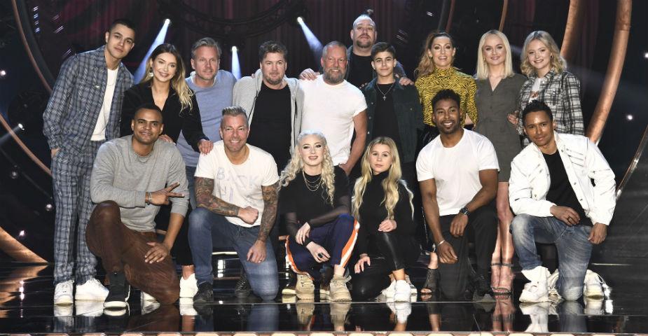 Alla finalklara artister i melodifestivalen 2019