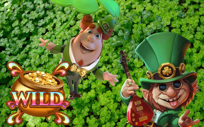 12 slots med regnbågar, leprechauner & Irland som tema