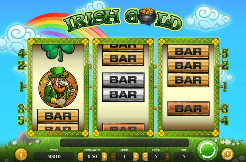 Irish Gold spelautomat