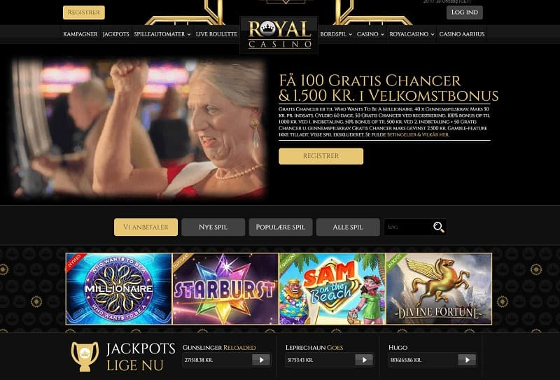 danska casino RoyalCasino.dk
