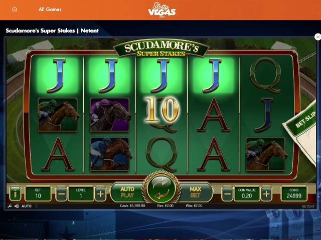 Slotty Vegas Casino Screenshot 2