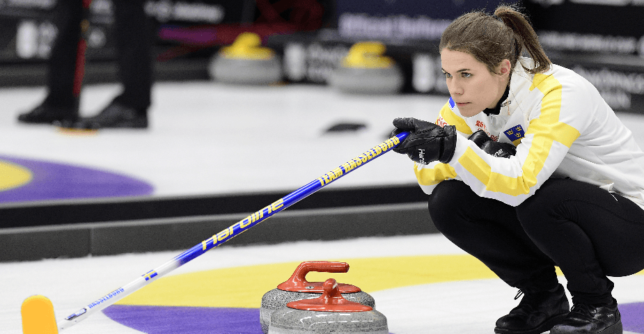 Curling VM damer 2019: Team Hasselborgs chanser i Silkeborg