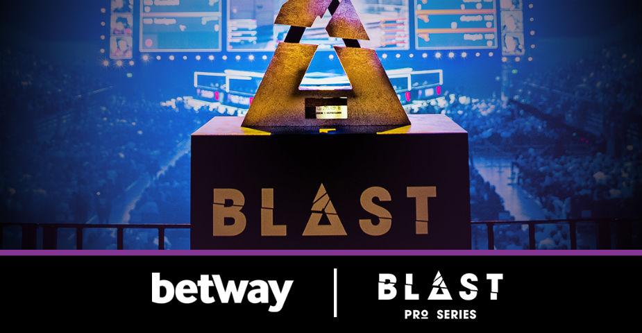 Betway i nytt samarbete med BLAST Pro Series