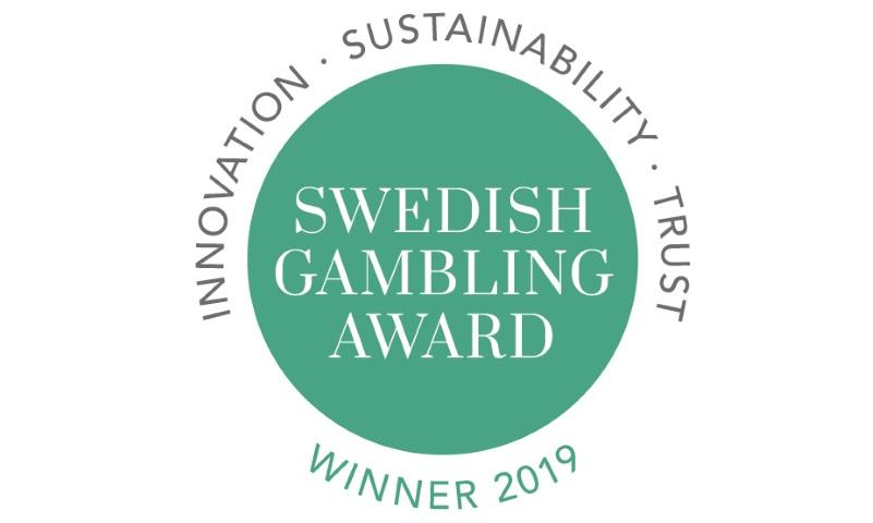 Svenska Spel vinner stort i Swedish Gambling Award 2019