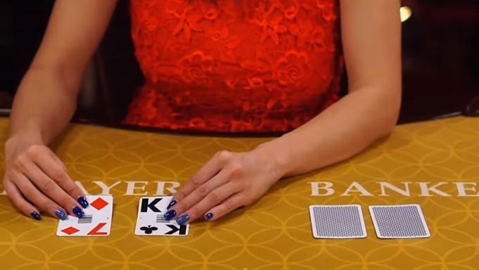 Baccara im Live Casino
