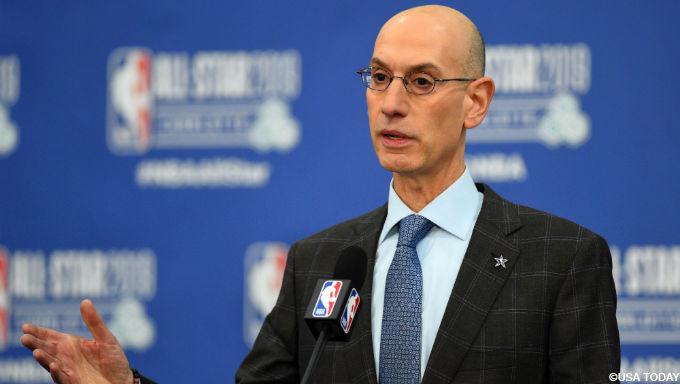 NBA's Silver, Marshall AD Address Gambling on 60 Minutes