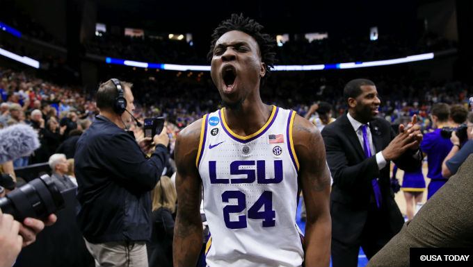 SEC and ACC Dominating 2019 March Madness Sweet 16 Field