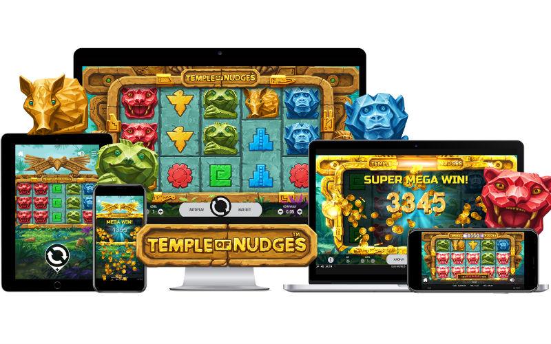 Temple of Nudges: Nytt spelsläpp från NetEnt
