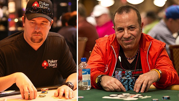 Chris Moneymaker und Sam Farha