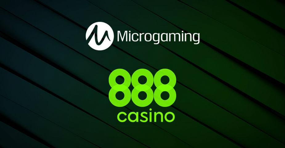 Nytt samarbete: Microgamings spel lanseras på 888 Casino