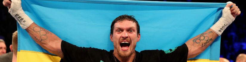 Oleksandr Usyk Big Betting Favorite for Heavyweight Debut