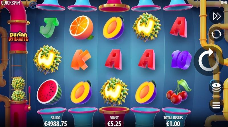 Durian Dynamite är det nya 3D-mobilspelet från Quickspin
