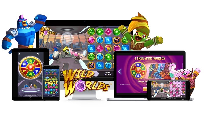 NetEnt lanserar unika funktioner i Wild Worlds
