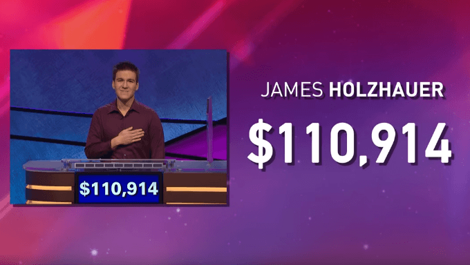 Professional Sports Bettor Sets Jeopardy! Single-Day Record
