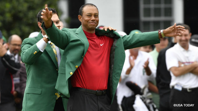 Tiger Woods Now Favored to Win in Every Golf Major in 2019