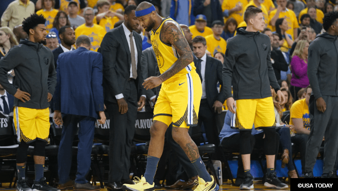 Should Cousins Injury Worry Warriors NBA Title Backers?