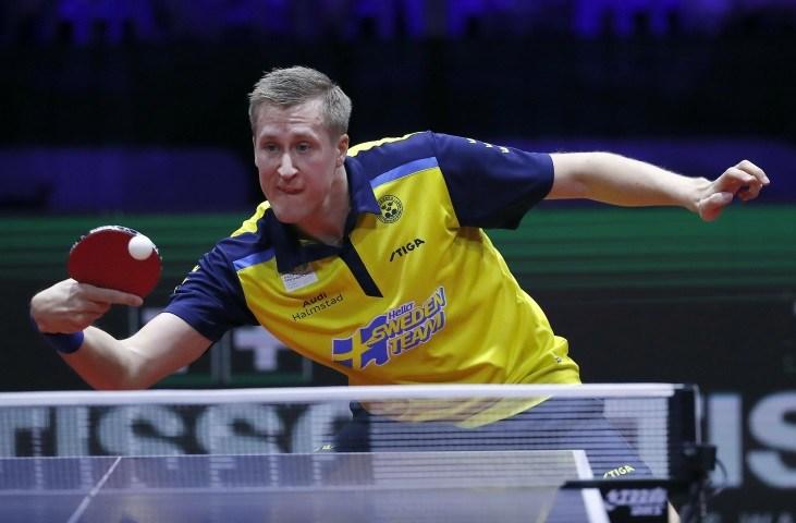 Bordtennis-VM: svenskt medaljhopp i dubbla kvartsfinaler