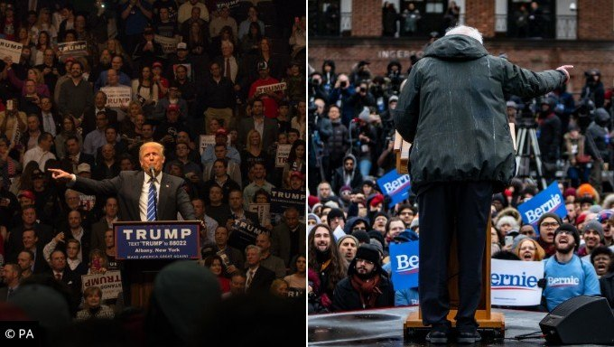 Trump and Bernie Still Favorites Despite Biden Announcement