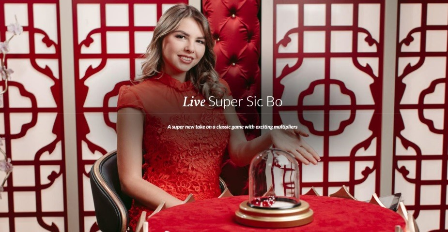 Evolution Gaming lanserar nytt livespel: Super Sic Bo