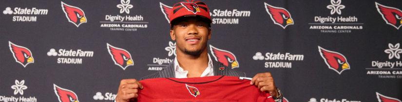 Murray Pick, Strong Draft Jolt Cardinals' NFL Title Odds