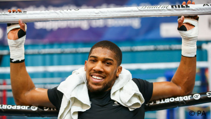 Anthony Joshua Huge Favorite vs Andy Ruiz in US Boxing Debut